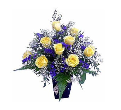 Flower Arrangement-Sunny Sentiments-new
