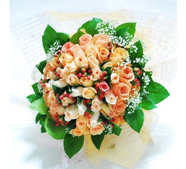 rose bouquet - this belongs to the rose lovers.
