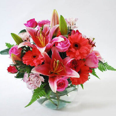 flower-arrangement-caring-thoughts-new, perfect gift and a treat for the eyes