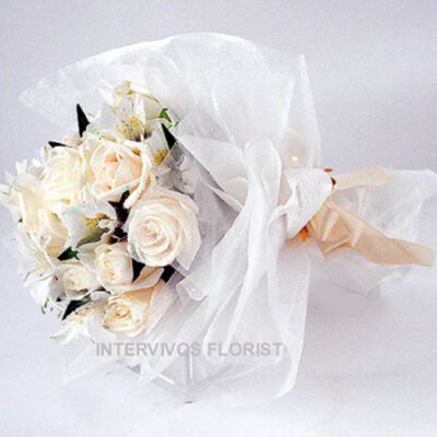 wedding rose bouquet