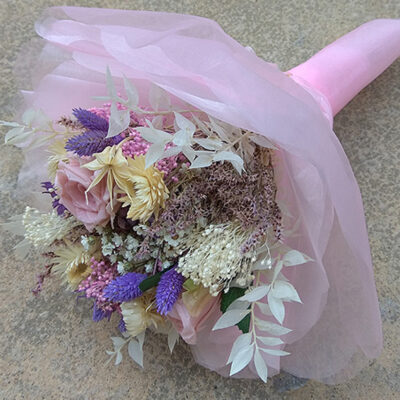 grandeur and elegance of the bouquet