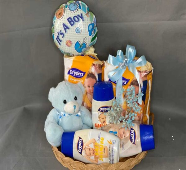 baby boy bath set