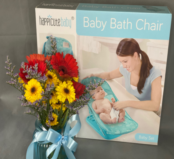 Flower with Baby Bath Chair