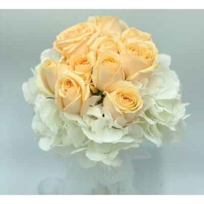 Angelic touch of flower bouquet